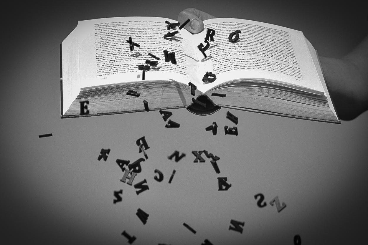 buchstaben, Buch, kreativ